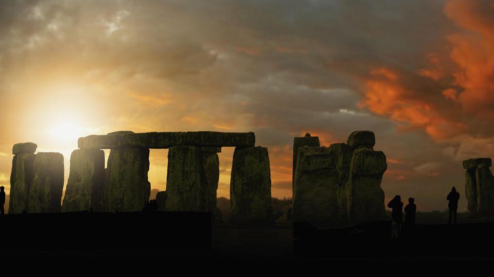 Die riesige Felsen von Stonehenge stammen wahrscheinlich aus West Woods