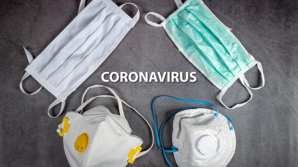 Es gibt eine große Auswahl an Atemschutzmasken