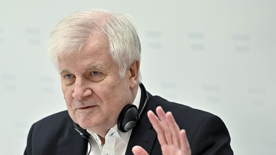 Der deutsche Innenminister Horst Seehofer (CSU)