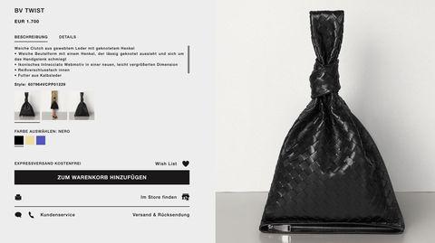Handtasche BV Twist von Bottega Veneta