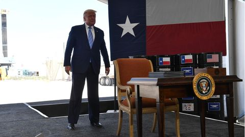 Donald Trump in Texas