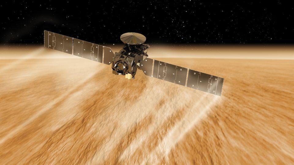 ExoMars Trace Gas Orbiter
