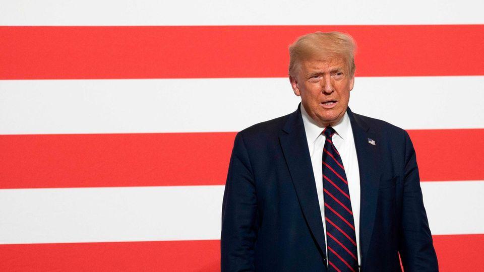 """Donald Trump und die US-Wahl im November: """"Will nicht herausfinden, dass alle Wahlzettel fehlen"""""""