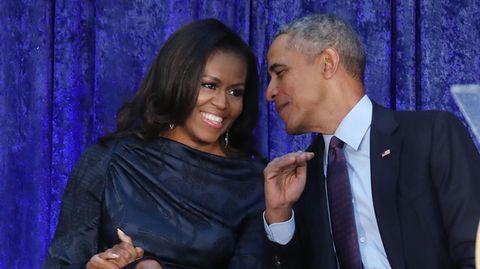 Michelle und Barack Obama sind ein eingespieltes Team