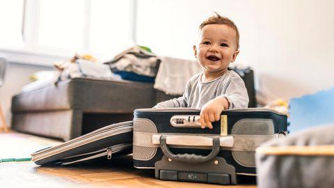 Mit dem Baby in den Urlaub ist eine neue Herausforderung