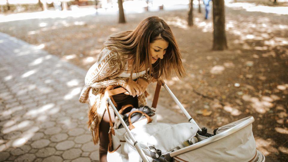 Eine Kinderwagen muss mit dem Kind wachsen (Symbolfoto)