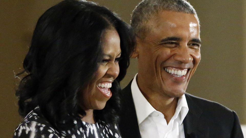 Podcast von Michelle Obama: Zu Gast bei den Obamas im Wohnzimmer