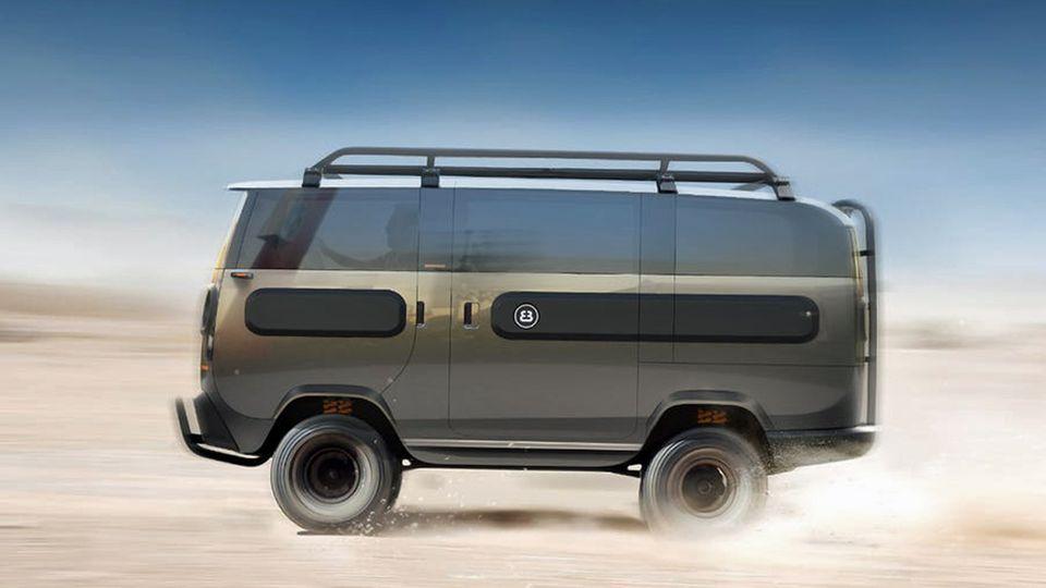 Die High-End-Version wäre der Camper mit Offroadfahrgestell.