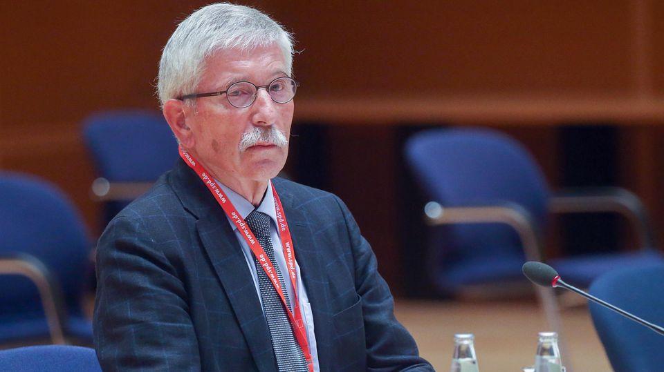 Thilo Sarrazin vor dem SPD-Schiedsgericht