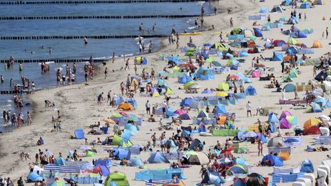 Nachrichten aus Deutschland – Ansturm auf die Ostseeküste