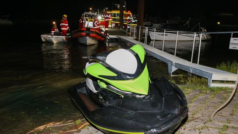 Jetski-Unfall auf der Elbe