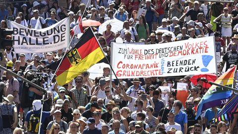 Großdemo in Berlin gegen die Corona-Maßnahmen
