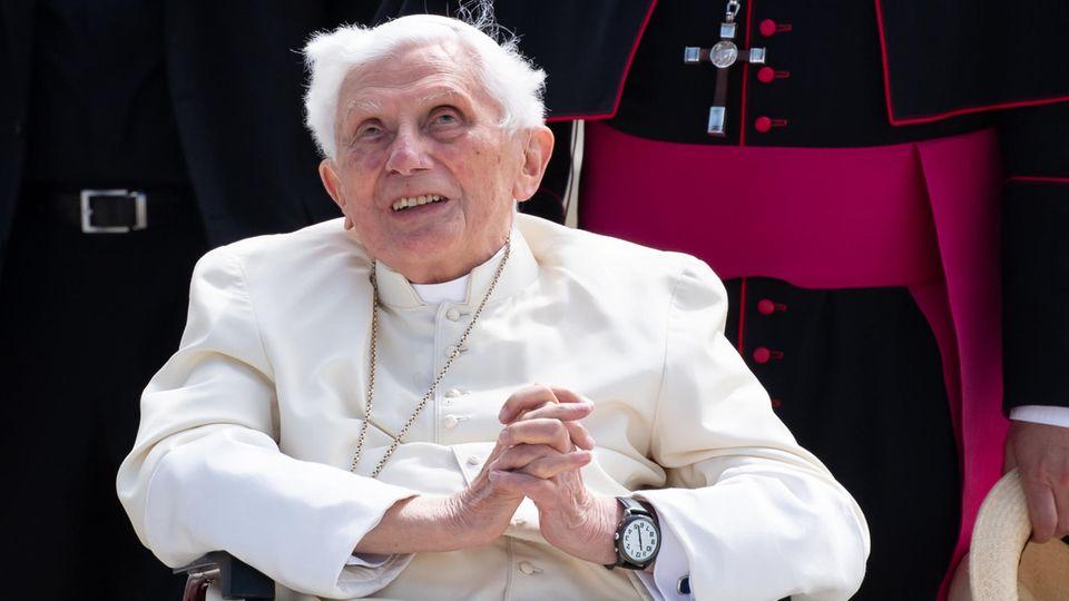 Der emeritierte Papst Benedikt