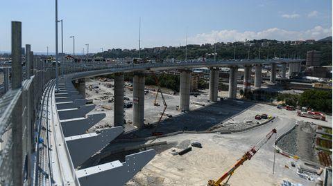 """Zwei Jahre nach dem Einsturz: Einweihung der neuen Brücke in Genua: """"Sie soll 1000 Jahre stehen"""", sagt Renzo Piano"""