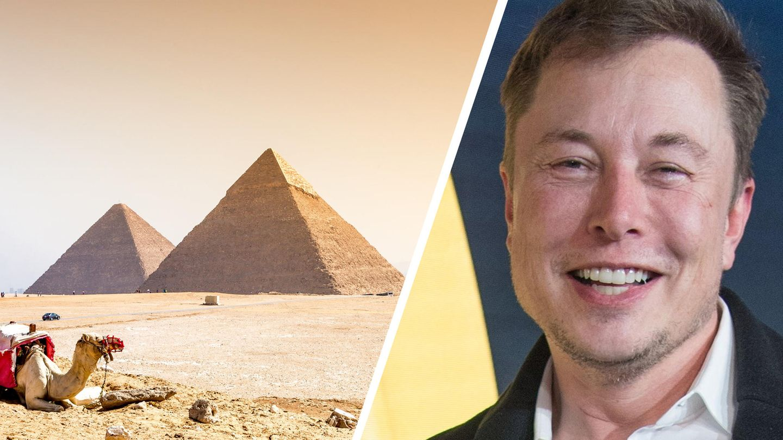 Elon Musk sorgte mit einem Tweet über die Entstehung der ägyptischen Pyramiden für Aufsehen