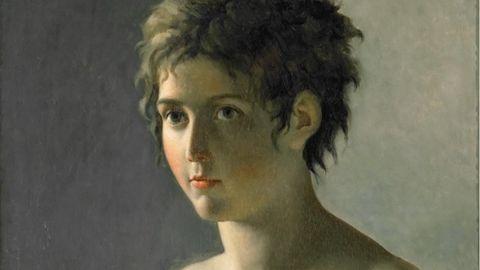 Pierre-Narcisse Guérins Portrait eines jungen Mädchens von 1812