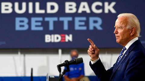 Joe Biden und sein Slogan build back better
