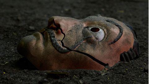 """Maske aus der Netflix-Serie """"Haus des Geldes"""""""
