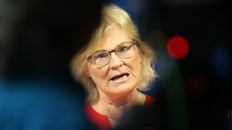 Justizministerin Christine Lambrecht im Fokus