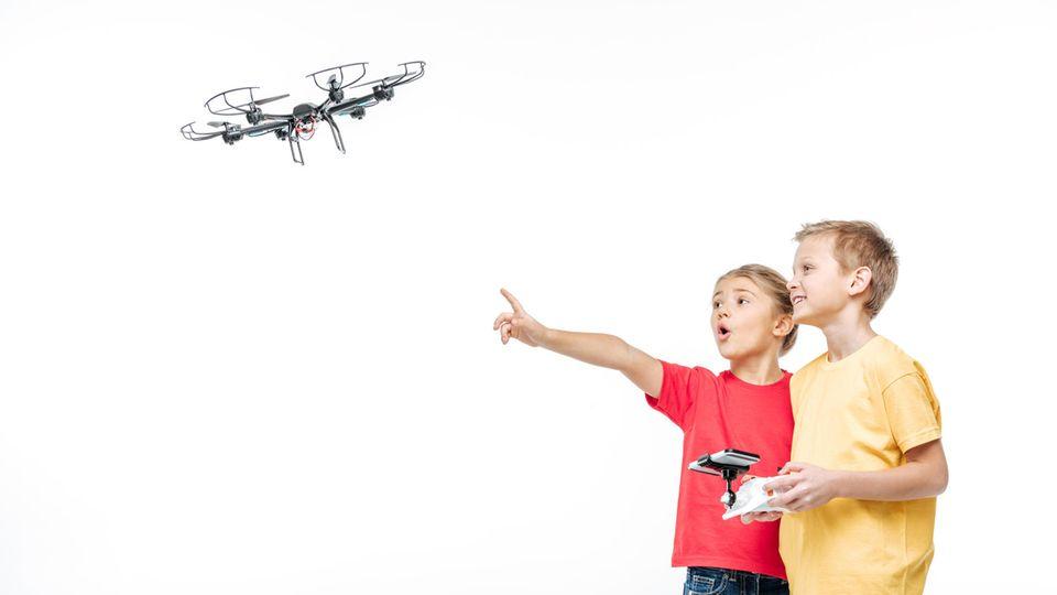 Nicht jede Drohne ist für Kinder geeignet