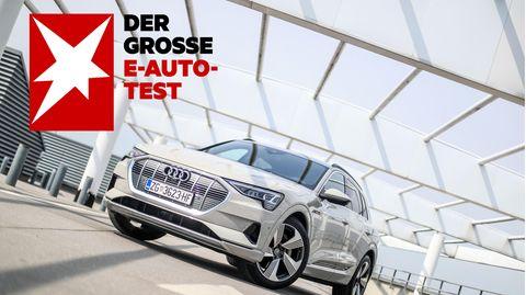 Großer SUV mit Platz für die ganze Familie: der Audi etron