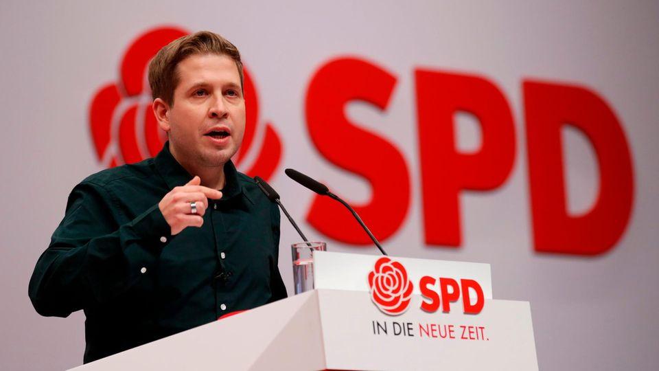 Kevin Kühnert gibt Juso-Vorsitz ab