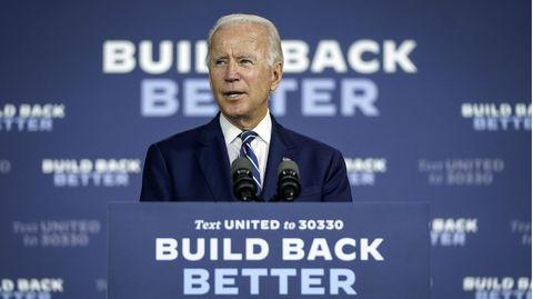 Joe Biden gilt als schlechter Redner
