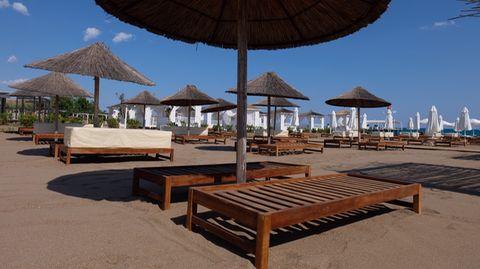 Strand in Antalya