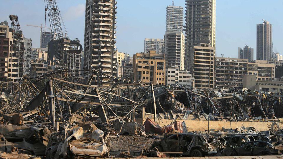 Zerstörung Beirut