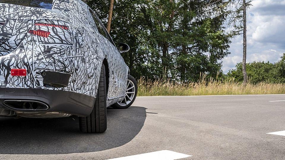 Mercedes S-Klasse W 223 Erprobung 2020