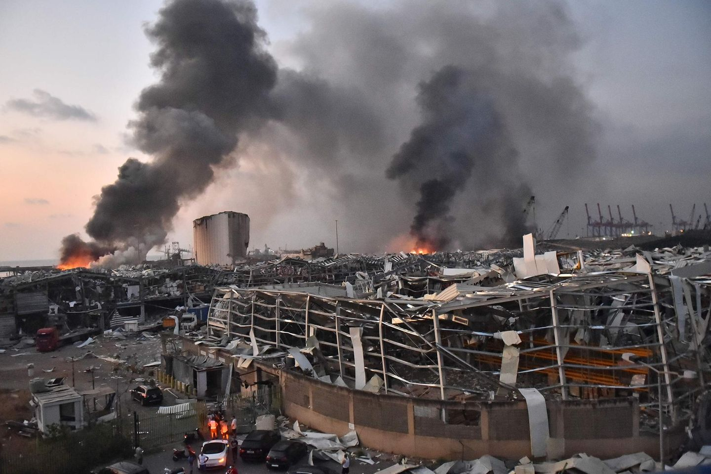 Explosion in Beirut