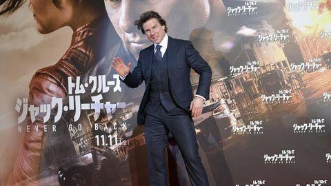 Geschrumpfter Hüne: Tom Cruise spielte Jack Reacher in zwei Kinofilmen