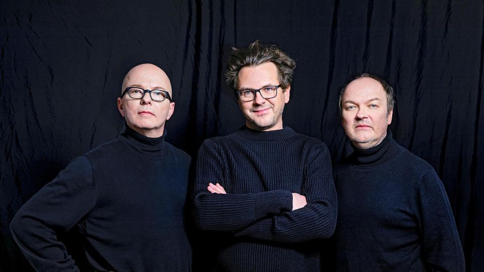 Oliver Rohrbeck, Jens Wawrczeck und Andreas Fröhlich