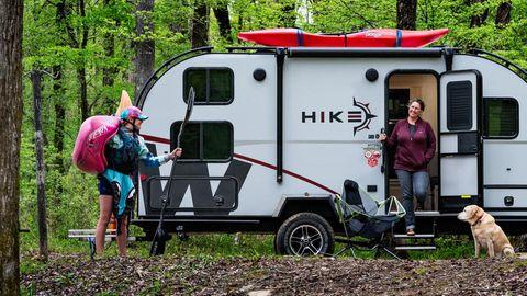 Der Hike dient dem Transport von jeder Menge Ausrüstung.