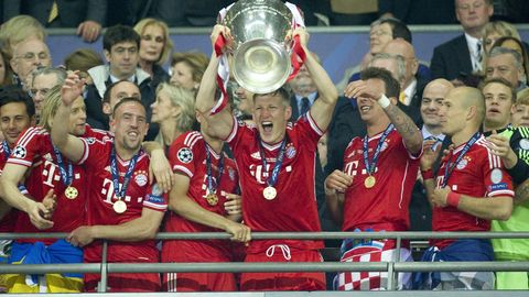 FC Bayern gewinnt Champions League 2013