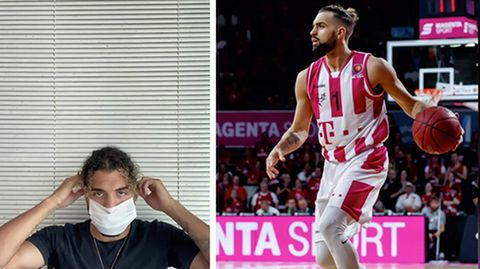 Basketballspieler Joshiko Saibou wurde von den Telekom Baskets entlassen