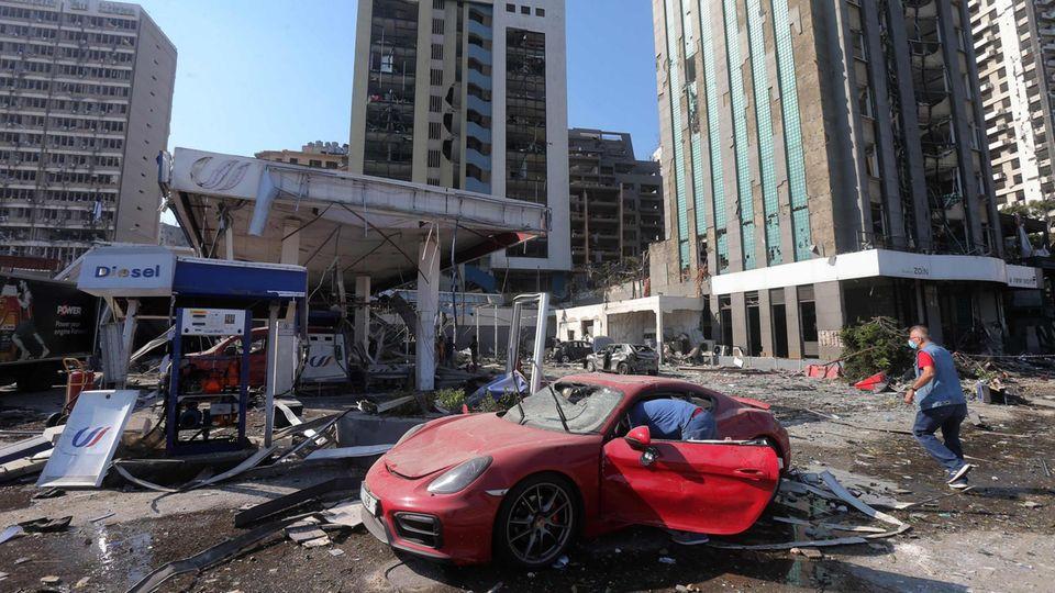 News des Tages: Die Explosion hat große Teile der Stadt verwüstet