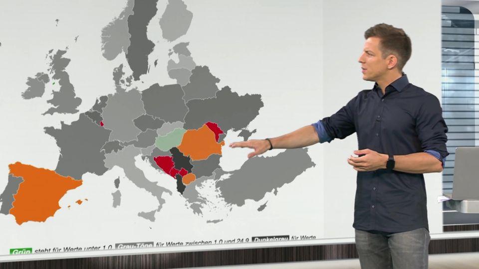 Infektionen ziehen in Deutschland deutlich an, Sorge auch um Anstiege in Spanien und Frankreich