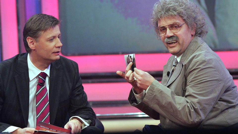 Günther Jauch und Horst Schlämmer