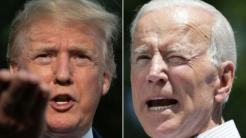 US-Wahl Donald Trump Joe Biden