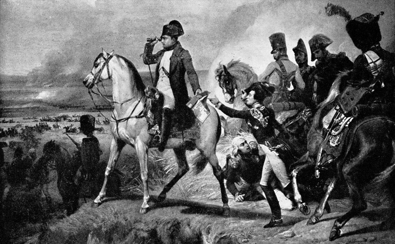 Napoleon mit Heer