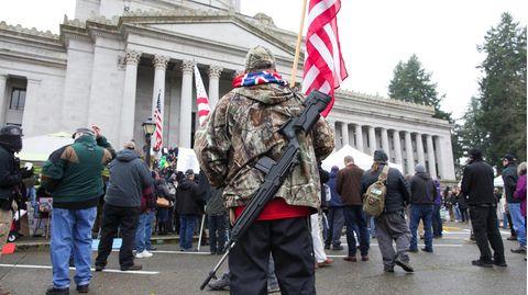 Die Waffen-LobbyorganisationNRA ist mächtig und hat viele Unterstützer in den USA