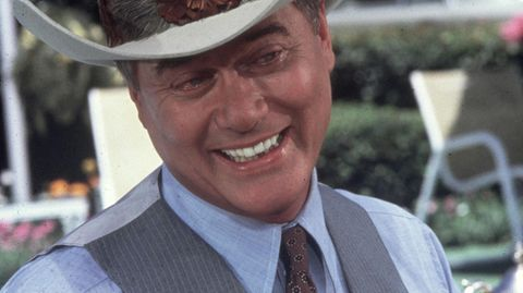 """Dallas"": Larry Hagman als J.R. Ewing"