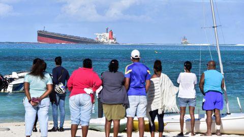 News von heute - Frachter vor Mauritius