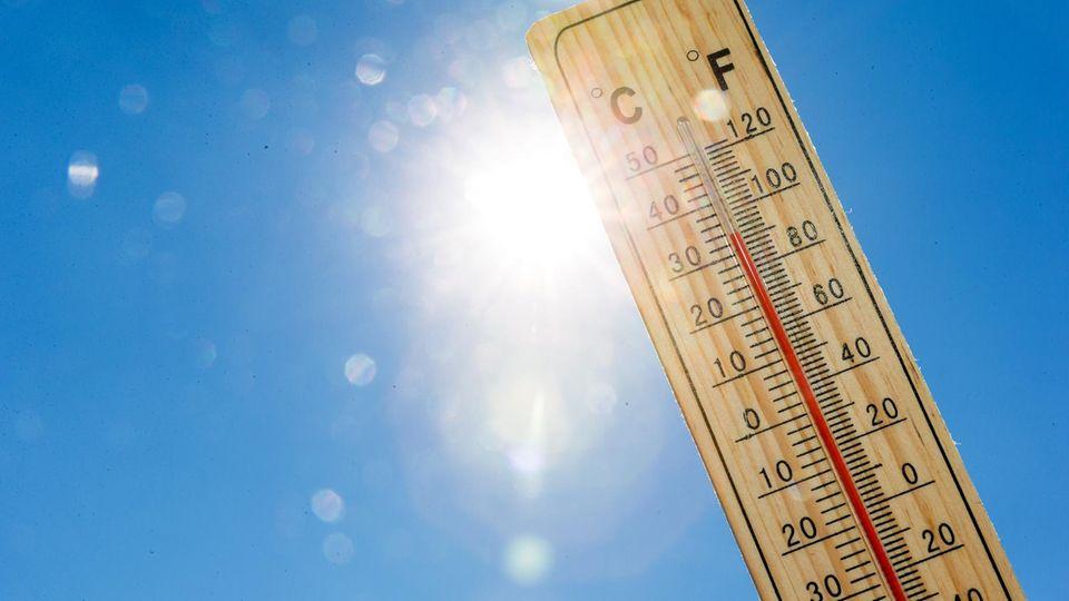 Hitzewochenende im Anmarsch