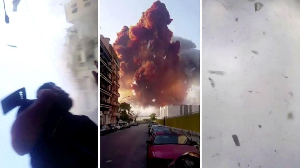 Neues Video von Beirut-Explosion aufgetaucht