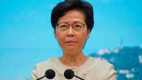 Sanktionen Hongkong Lam