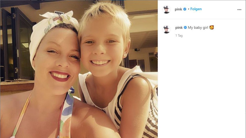 Vip-News: Kurzhaarschnitt: Pink und Tochter Willow zeigen sich im Partnerlook