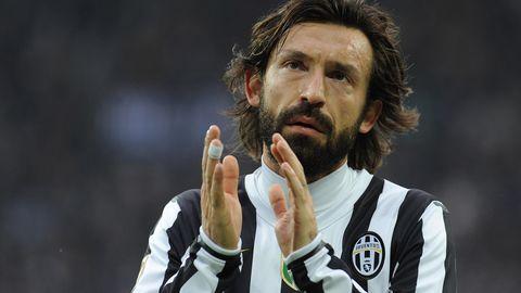 Andrea Pirlo hier noch als Spieler im Trikot von Juventus Turin