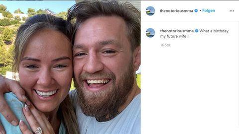 Vip-News: Conor McGregor hat sich mit Freundin Dee Devlin verlobt